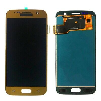 For Samsung Galaxy S7 SM-G930F LCD Display Touch Screen Digitizer Assembly Gold