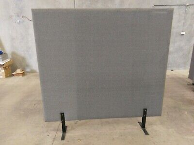 Office Partition/Room Divider Grey Fabric 1800mmW x 1800mmH