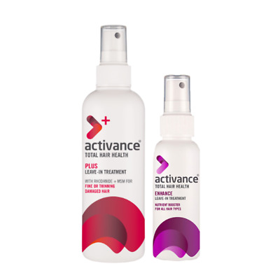 NEW Activance Plus Bonus Enhance Pack For Hair Loss and Thinning Hair
