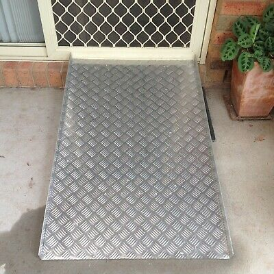 Wheelchair ramp Aluminium