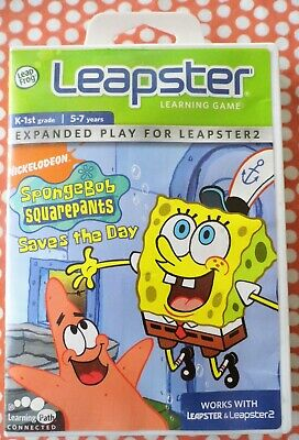 Leapster Learning Game Spongebob Square Pants Saves The Day