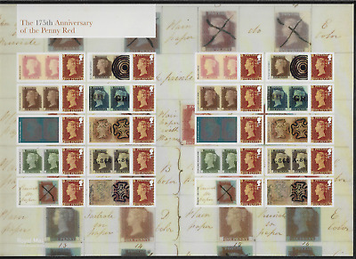 2016 175th ANNIVERSARY PENNY RED - GENERIC SMILERS FULL SHEET - MNH.