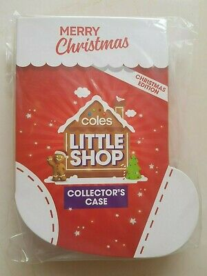 Coles Little Shop Christmas Edition Collectors Case - Case Only - New & Sealed
