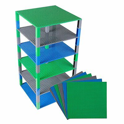 Stackable Base Plates Big Building Bricks Tower Construction Toys Stackers Large