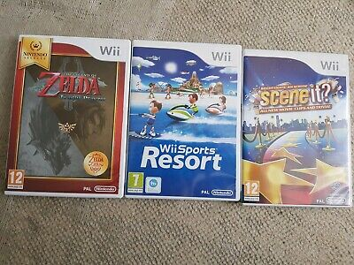 My Small Collection of Wii Games