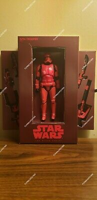 SDCC 2019 Hasbro Star Wars Early Release Black Series Sith Trooper Red IN HAND!