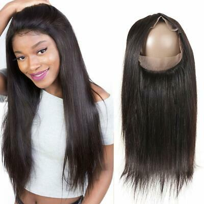 Lace frontal closure bresilienne lisse 360 lace frontal Cheveux naturel humains