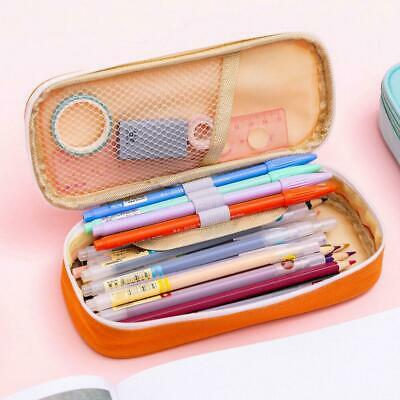 Multifunction Pencil Case Large Capacity Pen Box School Stationery Cosmeti Fast