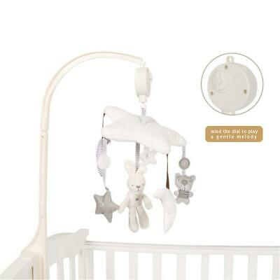 Baby Musical Crib Mobile Bed Bell Toys Newborn Infant Flashing Hanging Rattles
