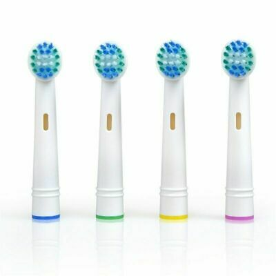 For Braun Oral-B Precision Clean Electric Toothbrush Replacement Brush Heads x 4