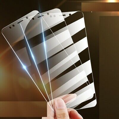 For Xiaomi Redmi Note 7 6 5 Pro 3Pcs Tempered Glass Screen Protector Cover Film