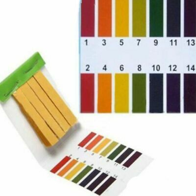 3 set 240 Strips Professional 1-14 pH litmus paper ph test strips water cosm V01