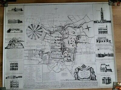 Winchester. British Museum Copy Of  Map Of History From 1St House To George 1St
