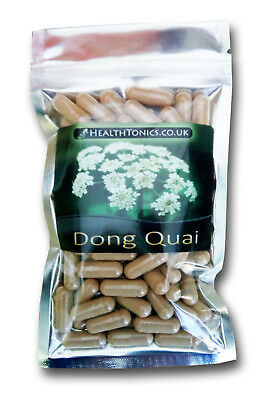Dong Quai Extract ( 10:1 equivalent to 4,000mg ), Vegetarian Capsules