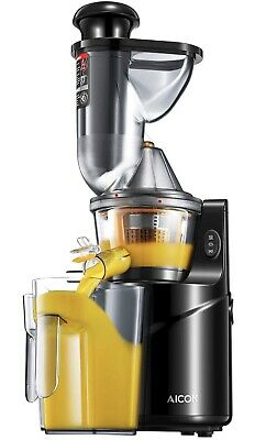 Slow Masticating Juicer, Alcock SD60K Cold Press Juicer With75mm Big Mouth