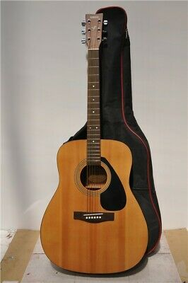 Yamaha F310 Acoustic Guitar Six String Right Handed Light Wood In Yamaha Case