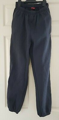 Girls navy blue jogging bottoms Slazenger age 13 years