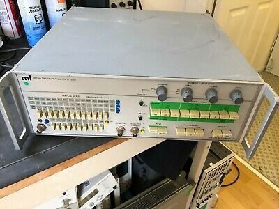Marconi Instruments 110 MHz Spectrum Analyser TF 2370/I (0)