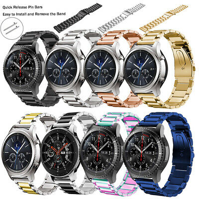 Stainless Steel Band Strap For Samsung Gear S3 Frontier/Classic Gear S2 Watch