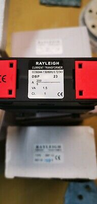 7 X Rayleigh Current Transformer DBP 23 Ratio 200/5