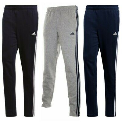 Adidas Mens Running Pants Essential 3 Stripes Sports Fashion Training Sweatpants