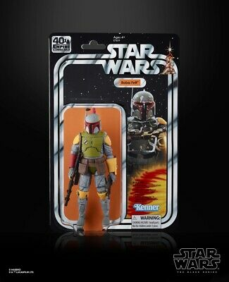 """SDCC 2019 IN HAND!! Exclusive Hasbro Star Wars The Black Series Boba Fett 6"""" Fig"""
