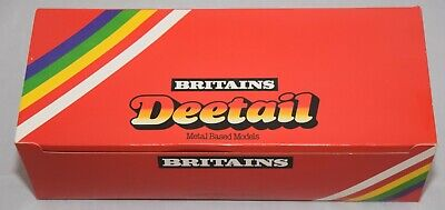 Britains Deetail Empty Red Trade Box 7489 Mounted 7Th Cavalry W/ Insert & Sleeve