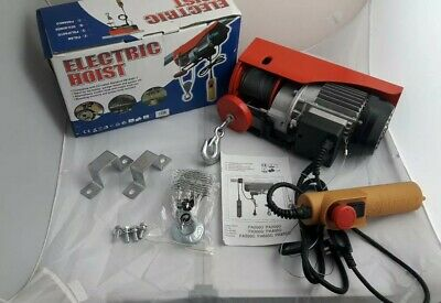 250kg 240V ELECTRIC HOIST - Boxed & Complete With Manual - Fully Working