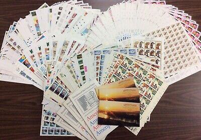 Discount Stamps: $1,230.67 Face Value, Lot Of Mint Sheets, New Condition