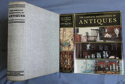 Complete Encyclopedia Of Antiques: Ramsey Illlustrated Hc/dj 1968