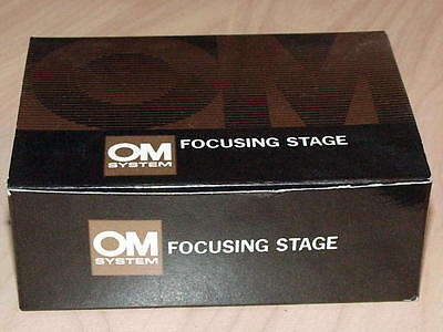 Olympus Om Focusing Stage For Auto Macro Bellows Or Focusing Rail New In Box