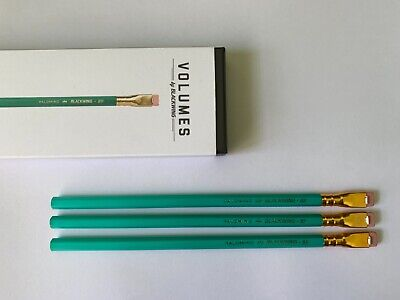 3 Blackwing Volume 811 pencils: Box Not Included (Library Maya Angelou)