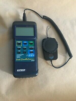 Extech 407026 Heavy Duty Foot Candle / Lux Light Meter (Pre-owned)