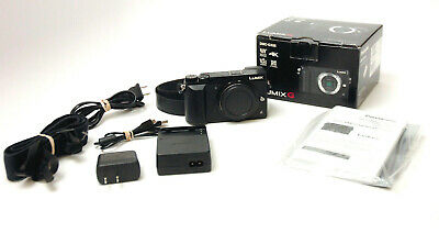 Panasonic Lumix DMC-GX85 Camera Body Used Excellent Shutter Actuation 4,820