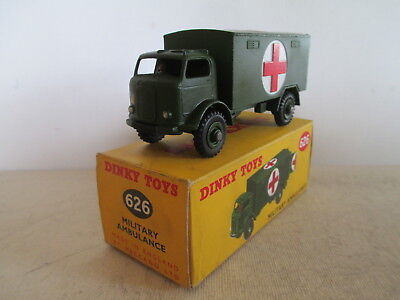 Gb Dinky 626 Commer Military Ambulance Army Truck Militaire Mib 9 En Boite L@@K