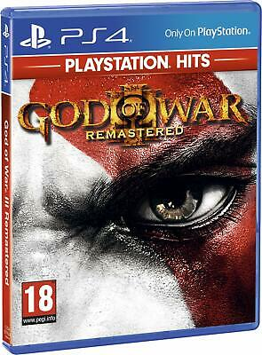 God of War III: Remastered (Playstation Hits) (PS4) (New) - (Free Postage)