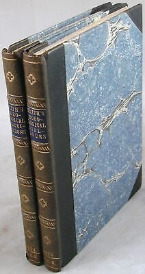 1675 Horological Dialogues + 1694 Disquisitions John Smith Clocks Watches 2 vols
