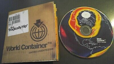 TRAGICALLY HIP WORLD CONTAINER 2006 CD ok! IN VIEW YER NOT THE OCEAN ALT ROCK