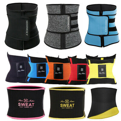 Hot Waist Trainer Cincher Trimmer Sweat Belt Gym Body Shaper Men Women Shapewear