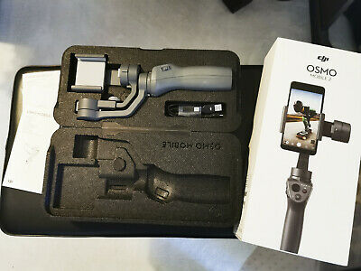 DJI Osmo Mobile 2 Gimbal & Selfie Stick Mint Condition including EVERYTHING