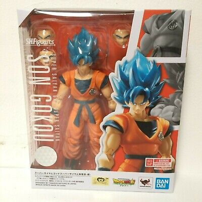 IN HAND S.H.Figuarts Dragon Ball Super BROLY Saiyan God Son Goku SSGSS US SELLER