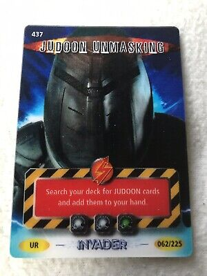 MINT !! DR WHO INVADER CARD 581 JUDOON GROUP