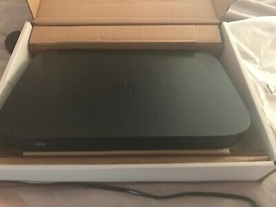 Sky Q 1TB Sky Box with remote and power cable In Original Box Barely Used