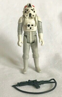 Star Wars ESB ATAT Driver Vintage 1980 Kenner Action Figure with Authentic Rifle