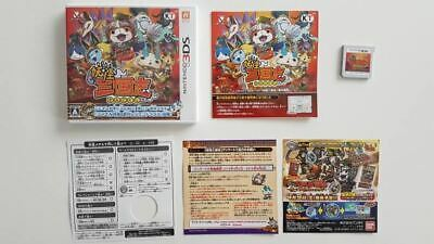 Yo-kai Watch Sangokushi 3DS Used Japan Import SAME DAY FREE SHIPPING