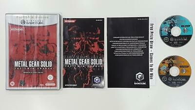 Metal Gear Solid The Twin Snakes GameCube Used SAME DAY FREE SHIPPING