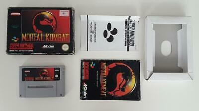 Mortal Kombat Competition Edition (Boxed) SNES Used SAME DAY FREE SHIPPING