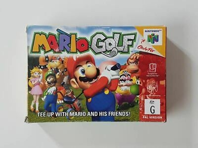 Mario Golf Nintendo 64 Used SAME DAY FREE SHIPPING