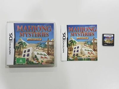 Mahjong Mysteries Ancient Egypt DS Used SAME DAY FREE SHIPPING