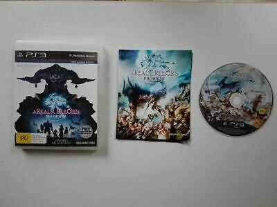 Final Fantasy XIV Online A Realm Reborn PS3 Used SAME DAY FREE SHIPPING